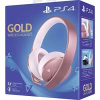 Sony Gold Stereo Wireless Gaming Headset for PlayStation® 4