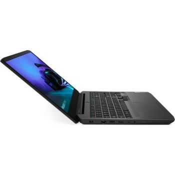 "LENOVO IDEAPAD GAMING 3 -82EY005DAX Home Laptop (AMD R7 4800H 2.9Ghz, 16GB RAM, 512GB SSD, 4GB NVIDIA GeForce GTX 1650, 15.6"" FHD IPS 120Hz, Wireless, Bluetooth, Camera, Windows 10 Home, Eng-Arabic Keyboard, Black Color)"