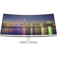"HP 34f 34"" Curved Monitor with AMD FreeSync Technology"
