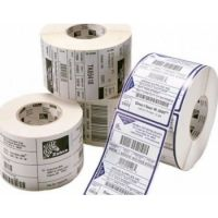 Zebra Barcode Label, Polyester, 89x25mm; Thermal Transfer, Z-ULTIMATE 3000T WHITE, Coated, Permanent Adhesive, 25mm Core