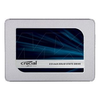 """Crucial MX500 1TB 3D NAND SATA 2.5"""" 7mm (with 9.5mm adapter) Internal SSD"""