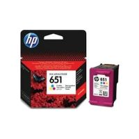 HP 651 Tri-color Original Ink Advantage Cartridge