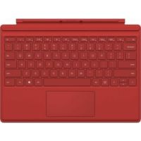 Microsoft Surface Pro Type Cover With Arabic Printing- Red