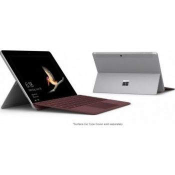 Microsoft Surface Go for Business: Intel Pentium4415Y, 10inch 4GB 64GB, IntelHD Graphics, Windows 10 Pro, Silver Color.