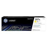 HP 207A Yellow Original Laserjet Toner Cartridge (1,250 pages)
