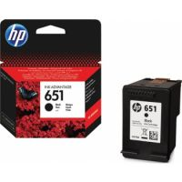 HP 651 Black Original Ink Advantage Cartridge