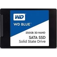 "WD Blue 3D NAND SATA SSD 250 GB 2.5"" Inch Internal"