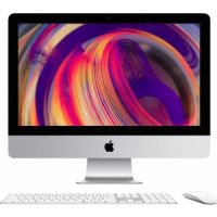 Apple 21.5‑inch iMac (2019) with Retina 4K display: 3.6GHz quad-core 8th-generation Intel Core i3 processor, 8GB, 1TB HDD, English+Arabic KBD - Silver