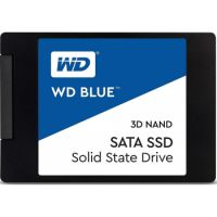 "WD Blue 3D NAND 2TB Internal PC SSD - SATA III 6 Gb/s, 2.5""/7mm, Up to 560 MB/s"