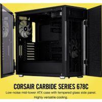 Custom Intel Build Desktop (Intel® Core™ i9-9900K Processor, 32GB Memory, 4TB Hard Disk + 1TB SSD, 11GB Graphic, Black)