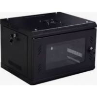 D-Net 6U  Wall Mount Cabinet with Fan and Shelf